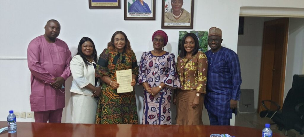 African Alliance's Management Team with the Executive Secretary, Pension Transitional Arrangement Directorate (PTAD)